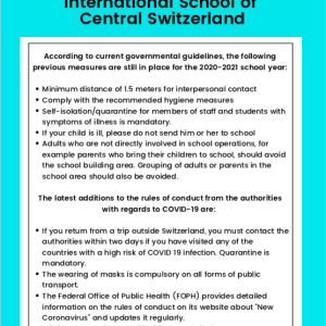 Covid-19 Safety Measures for School Start