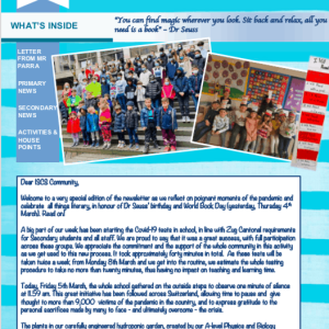 ISCS NEWSLETTER 5th MARCH