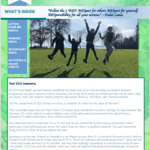 ISCS NEWSLETTER 19th MARCH