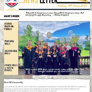 ISCS NEWSLETTER 11th June