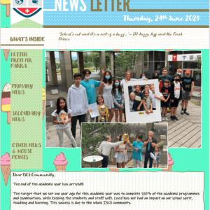 ISCS NEWSLETTER 24th June